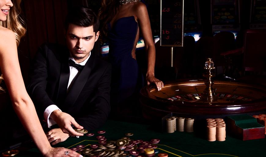 playing a casino